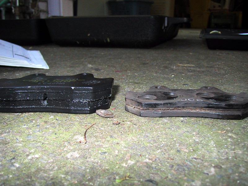Ebc Brake Pads >> bluepoof bikes - nighthawk 450 brake pad replacement